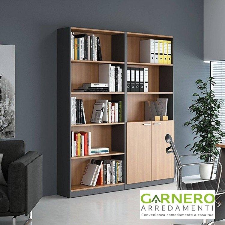 Libreria moderna estelle scaffale mensola libri libreria - Libreria camera ...