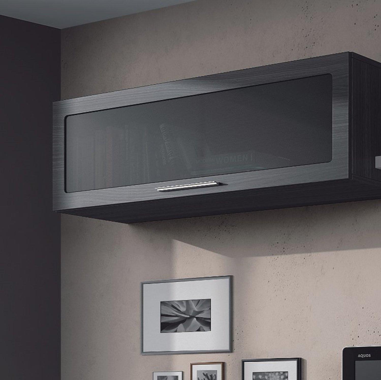 Parete attrezzata CANDY rovere grigio design casa soggiorno moderno tv  eBay